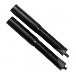 "Prolunga attacco manubrio 22,2 mm 1"" acciaio nero"
