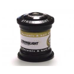 Serie sterzo Stronglight O´Light Steel 1 1/8-1 1/18 nero