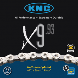 KMC Catena X9-93 Silver/Grey