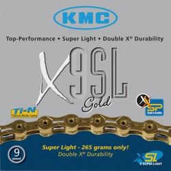 KMC Catena X9SL Gold
