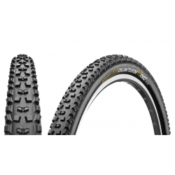 "Conti Mountain King II Pro Tec.piegh. 26x2.20"" 55-559 nero/nero Skin"