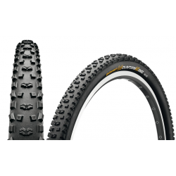 "Conti Mountain King II RaceSp. fb 27.5x2.20"" 55-584 nero/nero Skin"