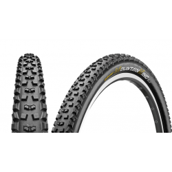 "Conti Mountain King II RaceSp. fb 27.5x2.40"" 60-584 nero/nero Skin"