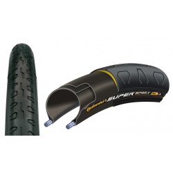 "Conti Super Sport Plus rig 28"" 700x25C, 25-622 nero"