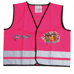 Crazy Stuff Gilet Catarifrangente Girl 104-121 cm