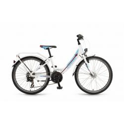"""Winora Ruff Rider monotubo 24"""" 21v. TX35 bianco/blu/bacca 2016"""