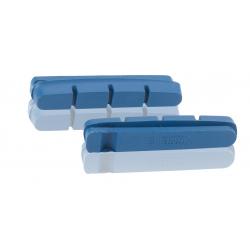 XLC pattinidi ricambio per freno RP-R01, set 4 pezzi, per cerchi carbonio 55 mm