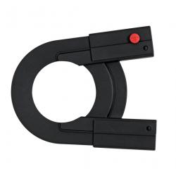 Parte posteriore carter Hebie Chainglider per pignoni 18-22 denti, nero