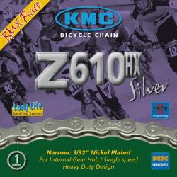 catena KMC Z610HX per divisore a mozzo 1/2 x 3/32 112 anelli, 7,8mm