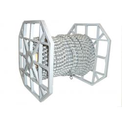 "Catena Wippermann Connex 1Z1 antirugg. 1/2 x 1/8"", 9,2mm, 50 metri Haspel"