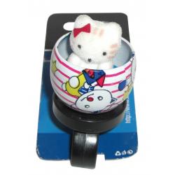 Campanello bambini Gatto (blister, su cartolina XLC)