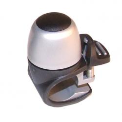 Campanello mini Widek Compact II alluminio argento