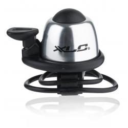 XLC Minicampanello DD-M07. argento, Ø 22,2-31,8 mm