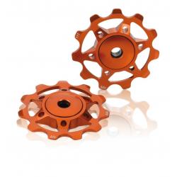 Pulegge cambio XLC PU-A02 arancione