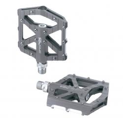 XLC pedali MTB/Trekking PD-M12 Alluminio, color titanio