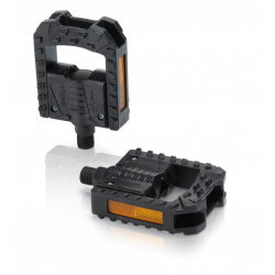 Pedali pieghevoli XLC PD-F01 Plastica,nero,con catarifrangente