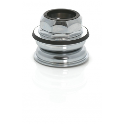 """Serie sterzo XLC semi-integr. HS-I04 1 1/8"""", cono 30,0 mm, argento"""