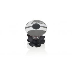 """XLC A-Head Plug AP-S01 1.1/8"""", alluminio, color titanio"""