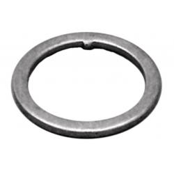 """Anello di pressione per serie sterzo standard a filetto 1"""" 1,5mm colore argento"""