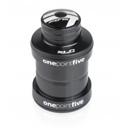 Serie sterzo XLC Comp A-Head-HS-I12 1 1/8, cono 30,0 nero, semi integrato