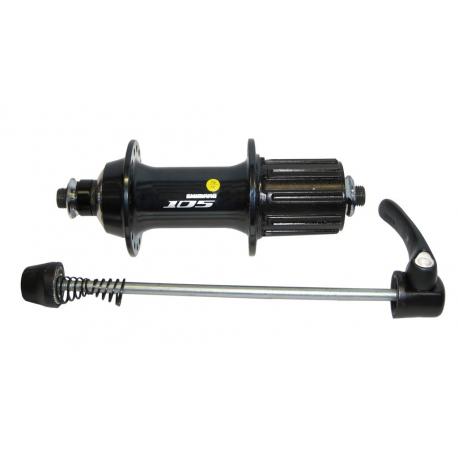 Mozzo sgancio rapido 130mm, FH-5700YL 105, 32 fori, nero