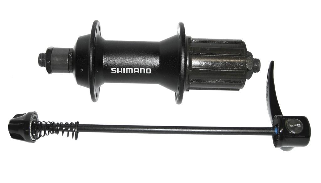 Mozzo Shimano Alivio HB-T4000 135mm, 32 fori, nero, 8/9/10-velocità con sgancio rapido
