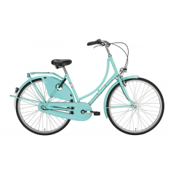"Bici Olandese 26"" Excelsior Classic ND 3V Shimano Nexus contropedale, Light Green"
