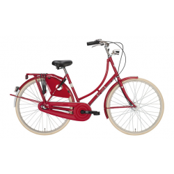 "Excelsior Luxus ND TB 28"" 3V Shimano Nexus contropedale, Queensred"