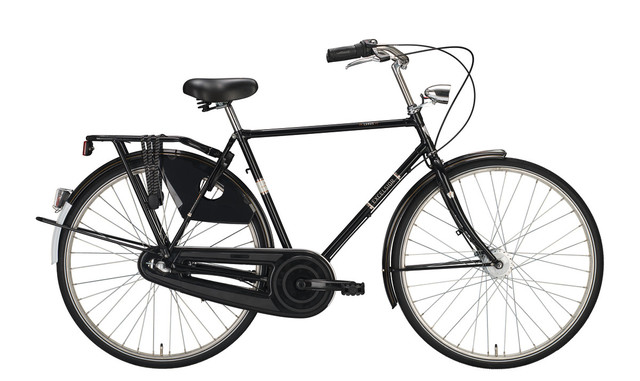 """Excelsior Luxus ND TB 2016 28"""" 7V Shimano Nexus contropedale, Nera"""