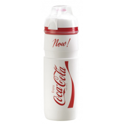 Borraccia Elite Coca Cola 750ml, bianco