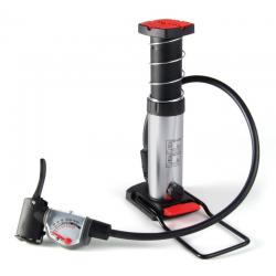 Minipompa da pavimento, manometro analogico di alta qualità, 12 bar