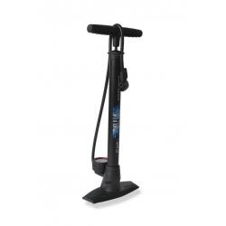 Pompa da pavimento XLC 'Delta' PU-S04 11 bar, doppio cilindro, colore nero