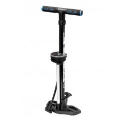 Pompa a piede XLC 'Beta' PU-S02 11 bar, con testa doppia