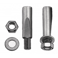 Chiavella 9,5mm, superficie corta 9,5mm, superficie corta