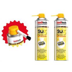 Fluido catena High Tech 105/107 Innotech Set fluido/Xtreme da 2 pezzi con 1 pennello