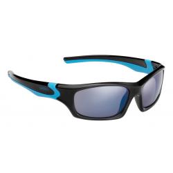Occhiali da sole Alpina Flexxy Teen mont.nera/ciano lenti blu riflett.S3
