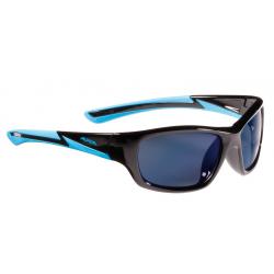 Occhiale da sole Alpina Flexxy Youth Mont nero/ciano lente blu a specchio S3
