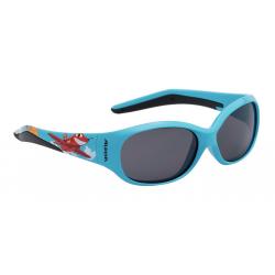 Occhiale da sole Alpina Flexxy Kids Montatura ciano lente nero S3