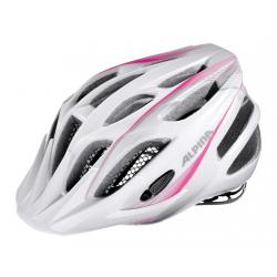 Casco da bici Alpina FB Junior 2.0 Flash bianco/pink/argento Tg.50-55cm