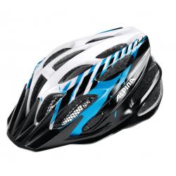 Casco da bici Alpina FB Junior 2.0 Flash nero/blu/bianco Tg.50-55cm