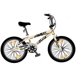 "BMX Monz Double X 20"" Freestyle & Allround, crema"
