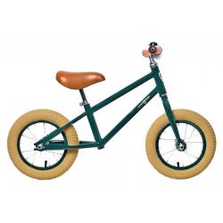 "Bici propedeutica Rebel Kidz Air Classic Boy 12,5"", acciaio, Classic verde scuro"