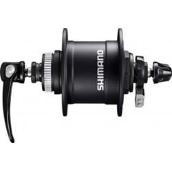 Mozzo a dinamo per ruota anteriore Shimano DH-T4050 100mm, 32 fori, Centerlock, 1,5 W, colore nero
