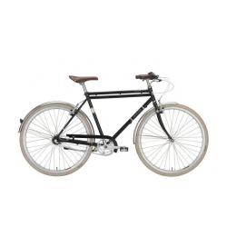 Excelsior Vintage nera, city bike uomo 3V