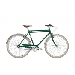 Excelsior Vintage metallic green, city bike uomo 3V