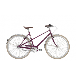 Excelsior Vintage purpurviolett, city bike donna 3V