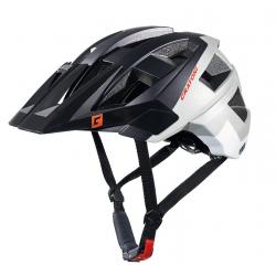 Casco bici Cratoni AllSet (MTB) Tg. S/M (54-58cm) nero/grigio/bianco opaco