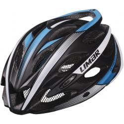 Casco da bici Limar Ultralight+ op nero/bianco/blu Tg.M (53-57cm)