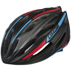 Casco da bici Limar 778 op nero/blu/rosso Tg.L (57-62cm)