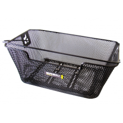 Cestello posteriore Basil Capri Flex 39x30x17 cm ,nero, maglia fine